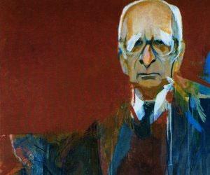 Portrait of Claude Lévi-Strauss by Júlio Pomar
