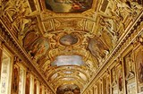 Photo of the interior at Louvre in Paris