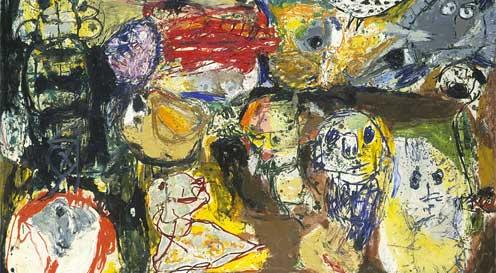 the cobra avant-garde movement in art