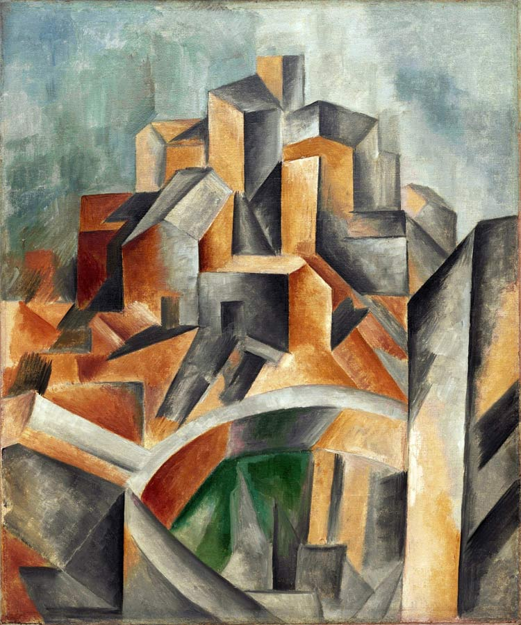 Pablo picasso georges braque and the advent of cubism for Picasso painting names