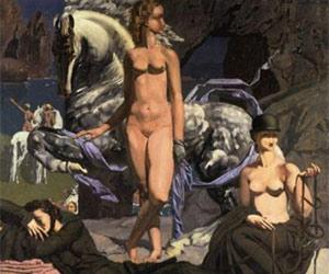 Amazons, 1926, Eugène Robert Pougheon
