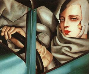 Self-portrait 1930, Tamara de Lempicka