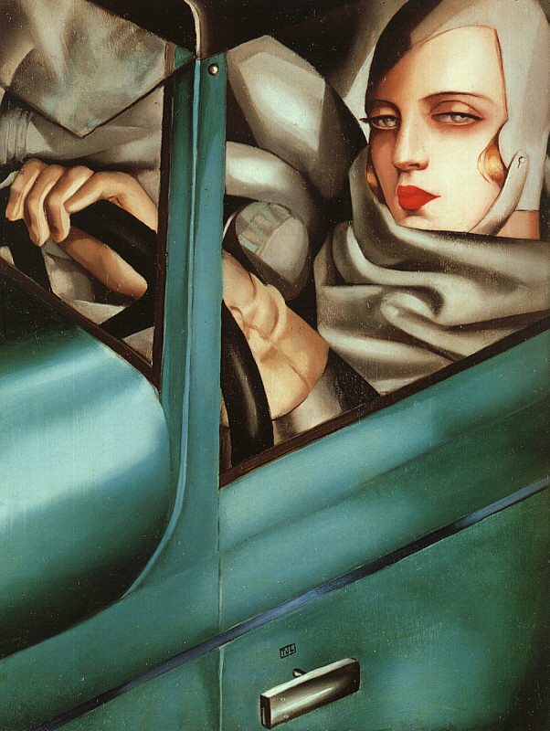 Art Deco Paintings In Style And Characteristics