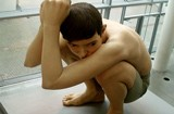 Boy - Ron mueck sculpture at ARoS
