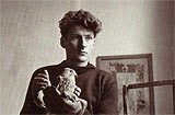 Lucian Freud - archive photo