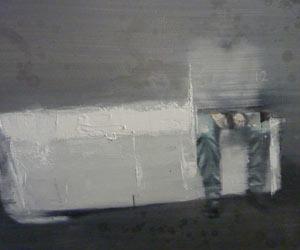 6h00 du matin, 70x40cm oil on canvas