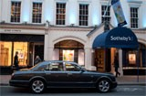 Sotheby's at their London Auction house location