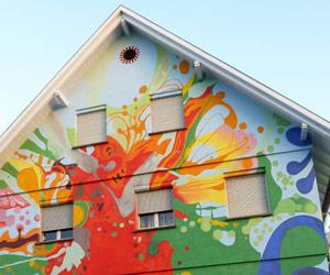 Ich seh - a mural by Sofie Siegmann