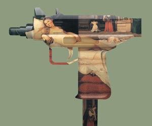 Artist Magnus Gjoen - Machine Gun Venus