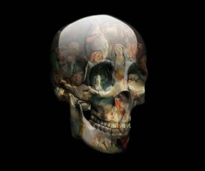 Skull V - Digital art by Magnus Gjoen