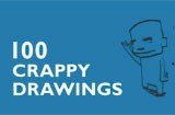 100 crappy drawings book by Jan-Hein Arens