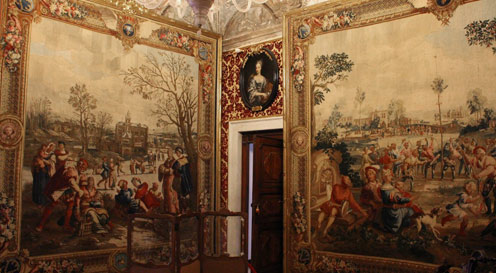 example of gobelins as high end acquisitions to stately homes