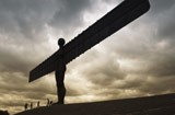 The sculpture Angel of the North by artist Anthony Gormley