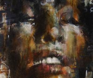 Mixed media art by Guy Denning