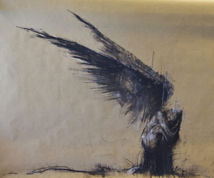 Drawing by Guy Denning