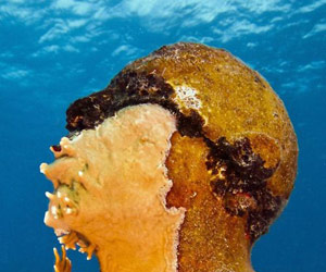 Jason Taylor underwater sculpture