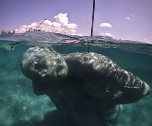 Underwater sculptures - Jason Taylor