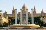 Exterior from the National Art Museum of Catalonia ( Nacional d'Art de Catalunya )
