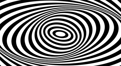 Op art and the characteristics of the art movement