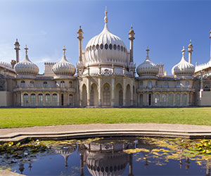 The Brighton Royal Pavilion - Orientalism influencing architecture