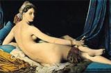 Jean Auguste Dominique Ingres, Grande Odalisque, 1814