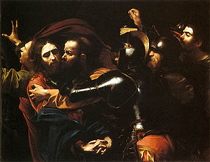 Taking of Christ by Caravaggio