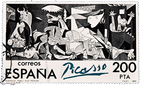 Guerneca by Pablo Picasso