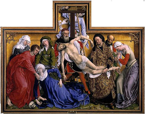 The Descent from the Cross (van der Weyden)