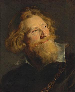 Sir Peter Paul Rubens (1577-1640) Portrait of a bearded man