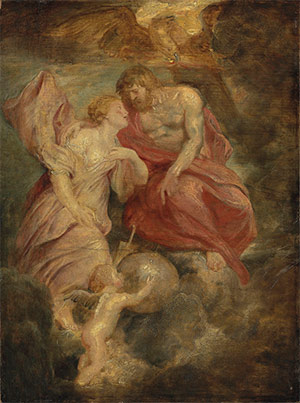 Sir Peter Paul Rubens (1577-1640) Venus and Jupiter