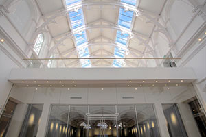 Interior view: Mezzanine floor at York Art Gallery