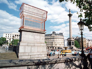 Very Clearly a monument on the 4th plinth at Trafalgar Square by Rachel Whiteread