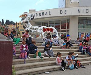 Loch Ness sculpture by Niki de Saint Phalle