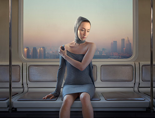 Metro by art photographer Katerina Belkina