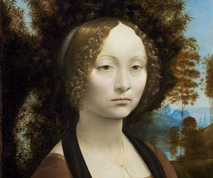 Leonardo da Vinci, Ginevra de' Benci 1474