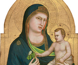 Giotto Madonna and Child probably 1320/1330 Painting
